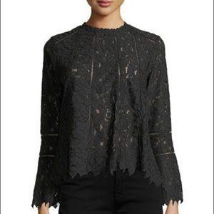 Lumie Black Lace Top